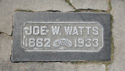 Joseph Washington Watts
