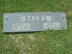Charlie H. Only Brown