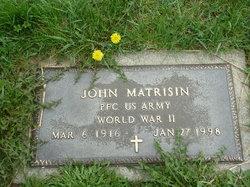 PFC John Fute Matrisin
