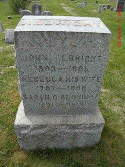 Sarah Catharine Albright
