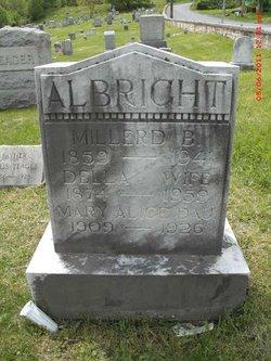 Della <i>Confer</i> Walizer Albright