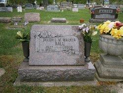 Deloris M <i>Walker</i> Ball