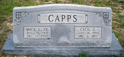 Cecil <i>Godbold</i> Capps