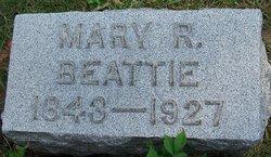 Mary R <i>McCammon</i> Beattie