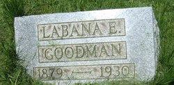 Labana E Goodman