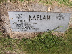 Arnold A Kaplan