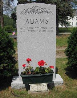 Velda <i>Garvin</i> Adams