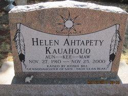 Aun-Kee-Maw Helen <i>Ahtapety</i> Kauahquo