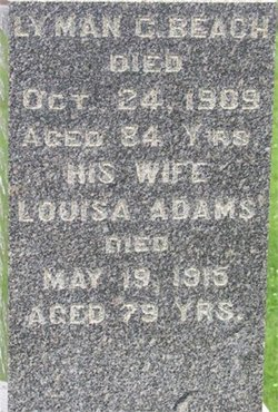 Phoebe Louisa <i>Adams</i> Beach