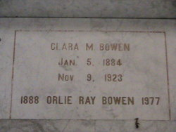 Orlie Ray Bowen