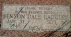 Benson Dale Badgley