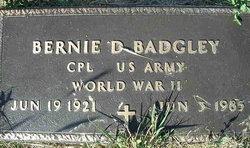 Corp Bernie D. Badgley