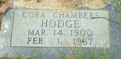 Cora <i>Chambers</i> Hodge