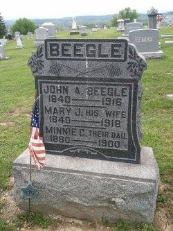 Mary Jane <i>Wertz</i> Beegle