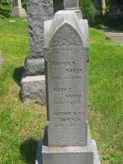 Mary E. <i>Brown</i> Baker