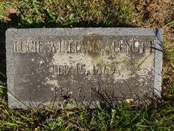 Lucie White <i>Williams</i> Allnutt