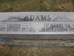 Harry E. Adams, Sr