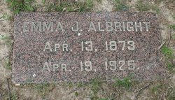 Emma Jane <i>Walser</i> Albright