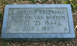 L. Adaline <i>Greenhill</i> Borden