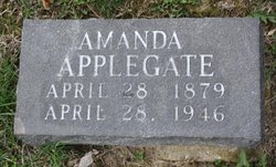 Amanda Gertrude Gertie <i>Jones</i> Applegate