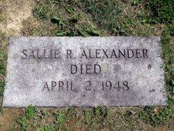 Sallie Ragan <i>Harry</i> Alexander