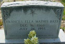 Frances Ella <i>Mathis</i> Bass