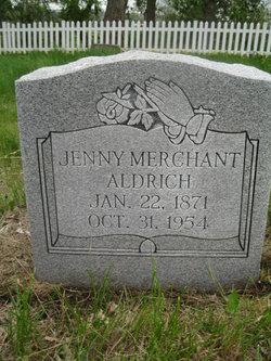 Jenny <i>Merchant</i> Aldrich