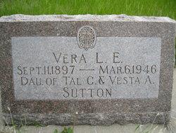 Vera L. E. Sutton