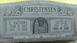 Lucille May <i>Robinson</i> Christensen