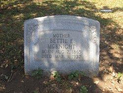 Bettie E. McKnight