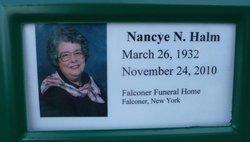Rev Nancy <i>Neathery</i> Halm