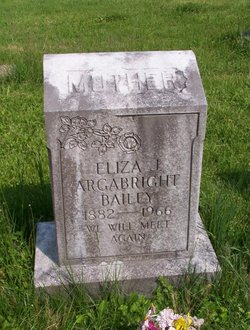 Eliza Jane <i>Creger</i> Bailey