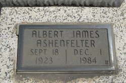 Albert James Ashenfelter