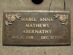 Mabel Anna <i>Gembella</i> Abernathy