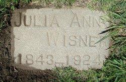 Julia Ann <i>Barto</i> Wisner