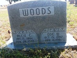 Alcie C <i>Epps</i> Woods