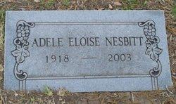 Adele Eloise <i>Thevenet</i> Nesbitt