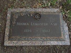Neoma <i>Lemaster</i> Ash