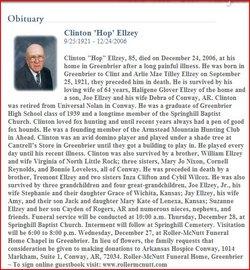 Clinton Hop Ellzey