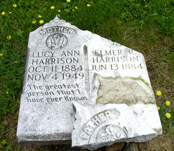 Lucy Ann <i>Law</i> Harrison