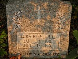Lorain M Hill