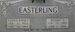 Venus <i>Vance</i> Easterling