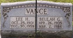 Lee Hargus Vance