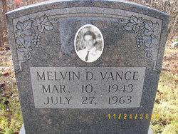 Melvin Dean Vance
