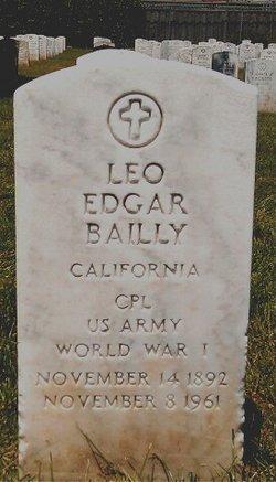 Corp Leo Edgar Bailly