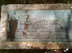 Mary A. Pierson