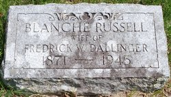 Blanche <i>Russell</i> Dallinger