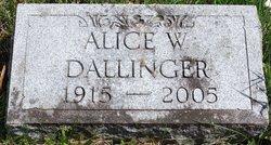 Alice W Dallinger