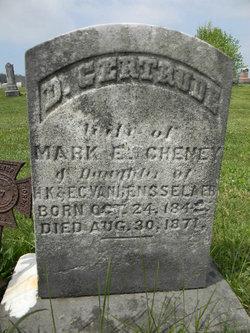 D. Gertrude <i>Van Rensselaer</i> Cheney