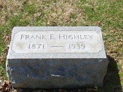 Frank E. Highley